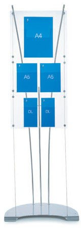 Dimensions D3 Literature Display Stand