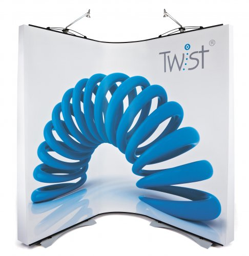 3 Panel Twist Flexi-Link Banner Stand