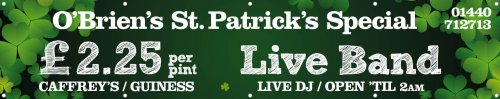 St Patricks Day Banner 3