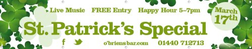 St Patricks Day Banner 6