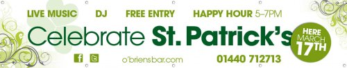 St Patricks Day Banner 9