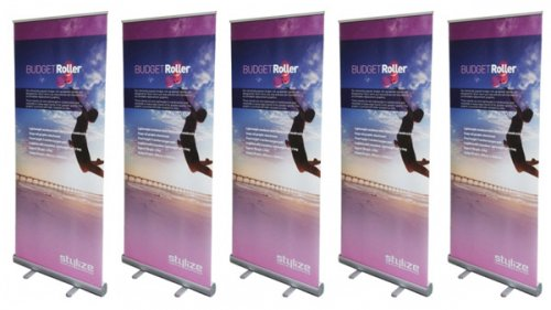 5 Budget Banner Stands