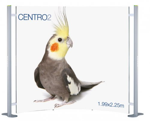 Centro 2 Curved Modular Display System (3 Panel)
