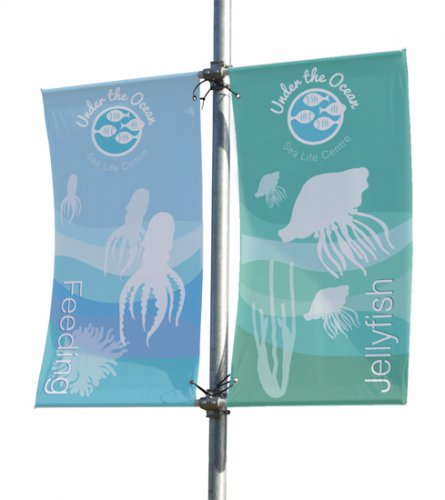Ultima Double-Sided Mistral Lamp Post Banner