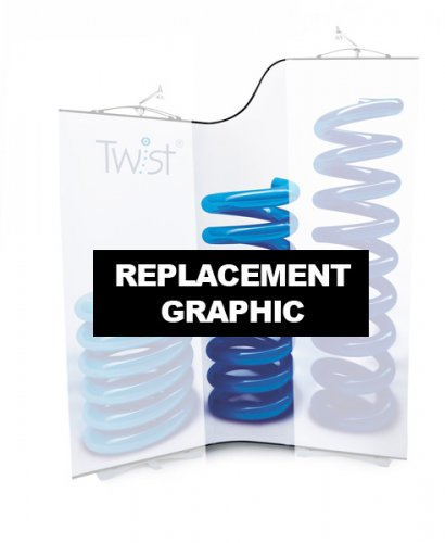 Replacement Twist Flexi-Height Graphic