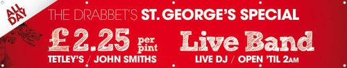 St Georges Day Banner 3