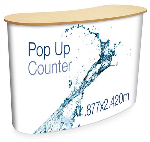 Eurostand 2x2 Pop Up Counter