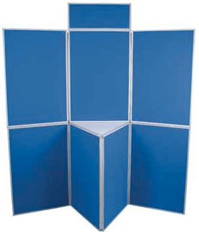 7 Panel Folding Exhibition Display Board