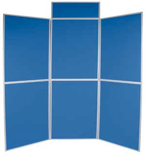 6 Panel Folding Exhibition Display Board